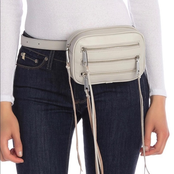 Rebecca Minkoff Handbags - Rebecca Minkoff 3 Zip Belt Bag